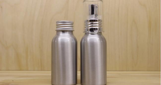 Алюминиевые флаконы для хранения духов